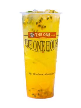 百香芒果柠檬茶