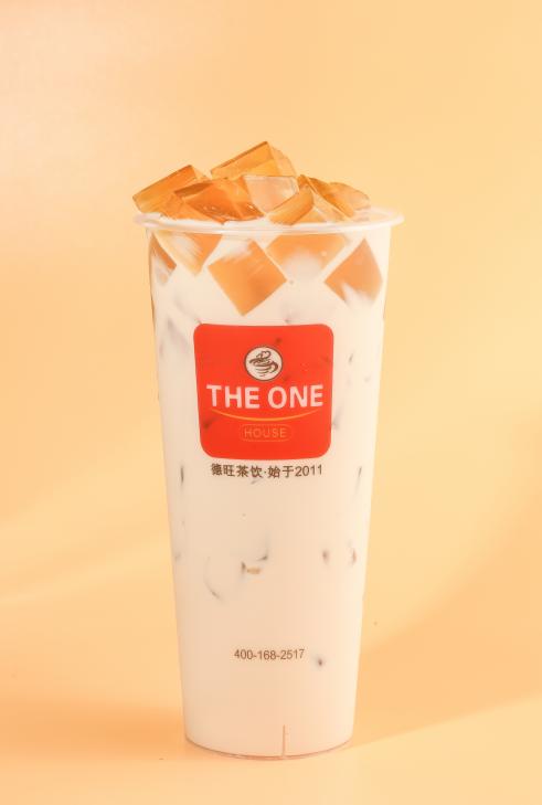 黄金蜜冻奶茶